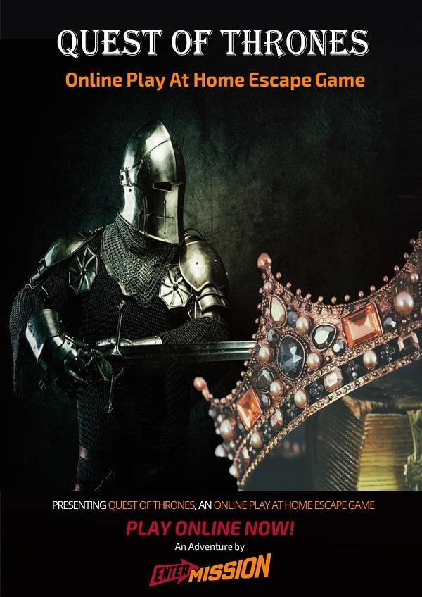Quest of Thrones Poster website