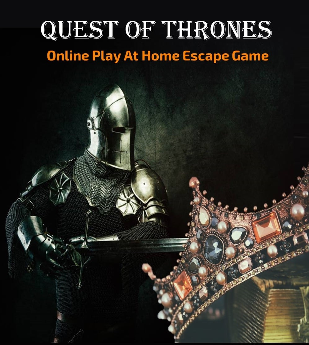 Printable Online Escape Room Quest of Thrones