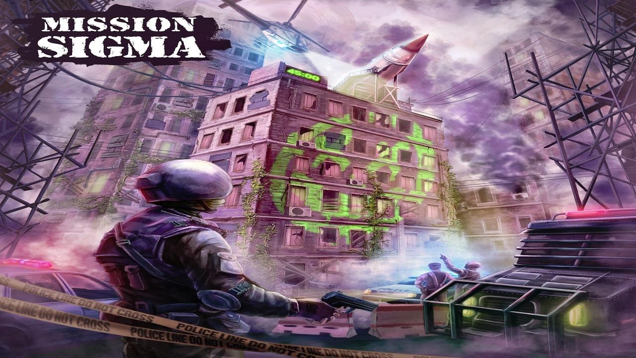 Mission Sigma Virtual Reality Escape Room x