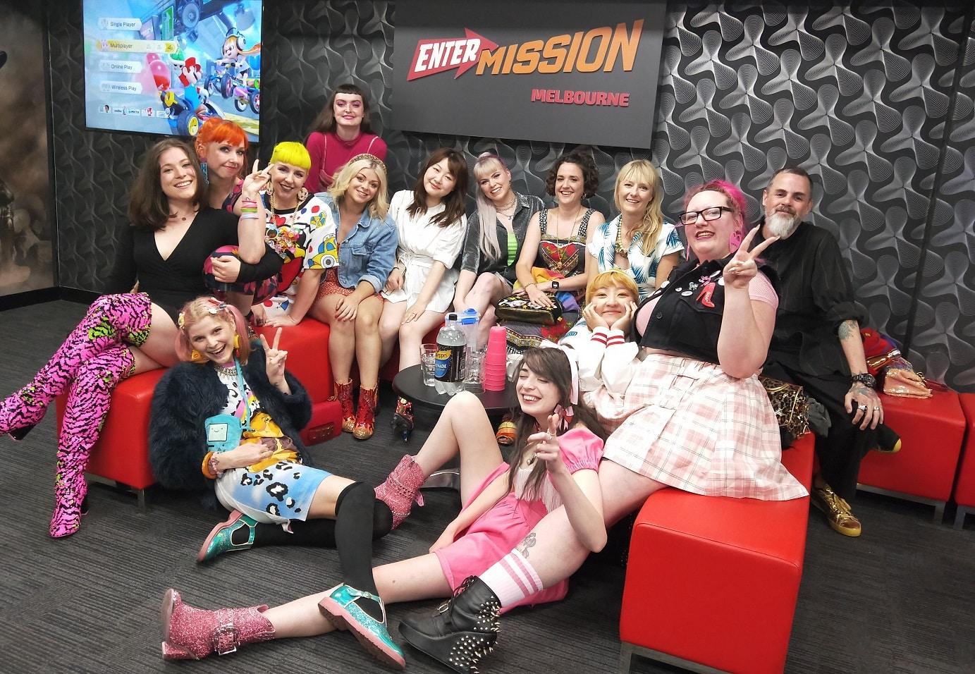 Entermission VR Escape Rooms Hens party SML
