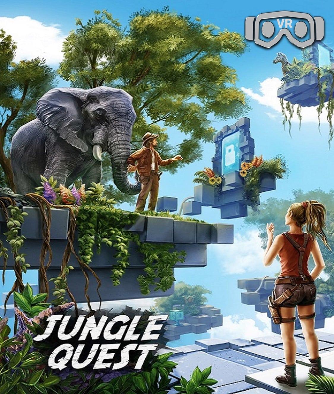 Jungle Quest Entermission Virtual Reality Escape Room x VR