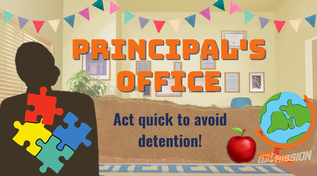 Principals Office Online Escape Room x