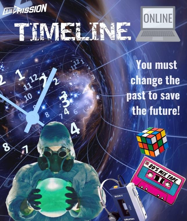 Timeline Entermission Online Escape Room x