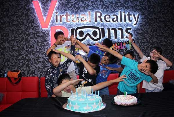 Virtual Reality Escape Room Birthday Parties