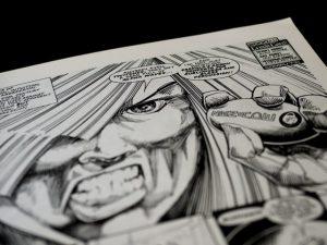 graphic novels lockdown activities
