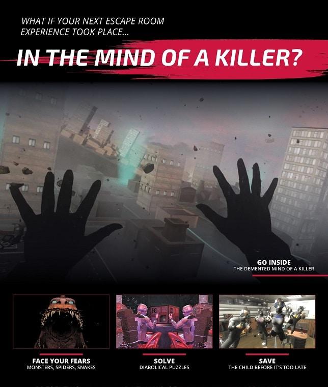 Entermission Virtual Reality Escape Room Mad Mind