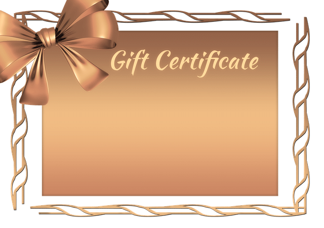 Buying a gift certificate helps the business immediately.
