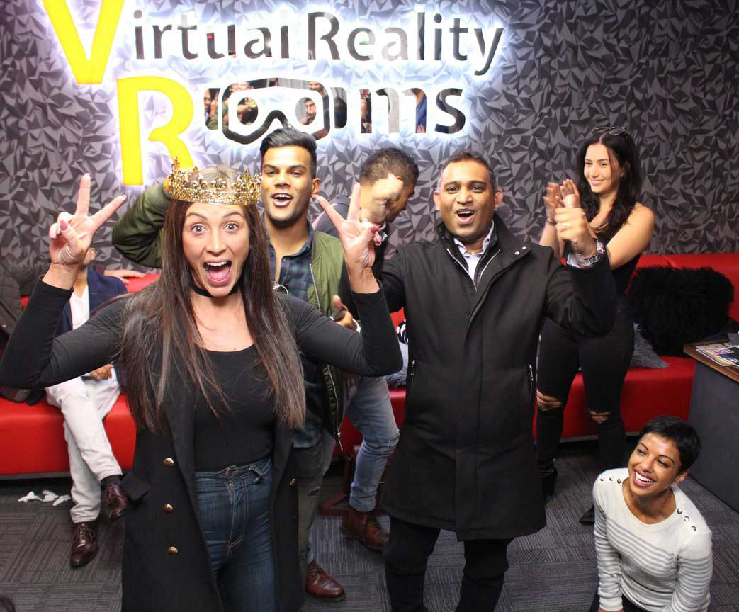Virtual Reality Rooms Team Building