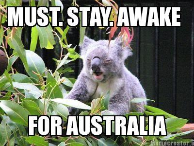 koala australian stereotype meme