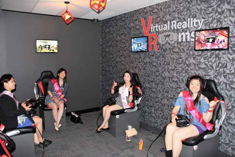 Hens Parties Virtual Reality Rooms