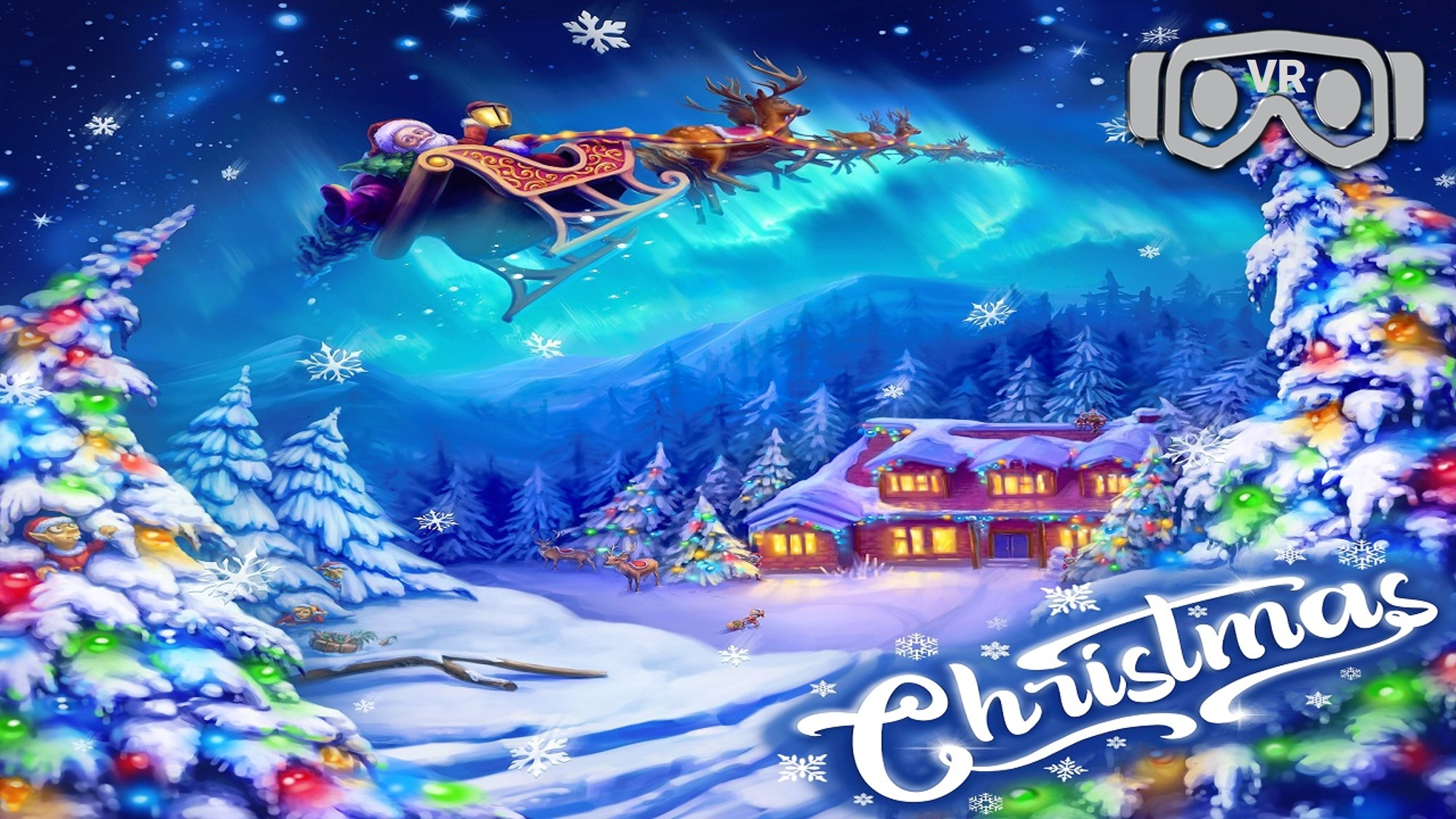 Christmas Virtual Reality Escape Room x VR
