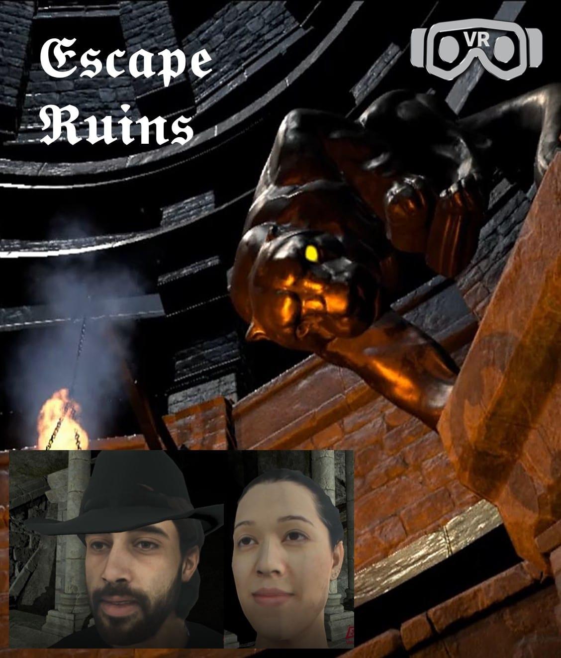 Escape Ruins Entermission Virtual Reality Escape Room x VR