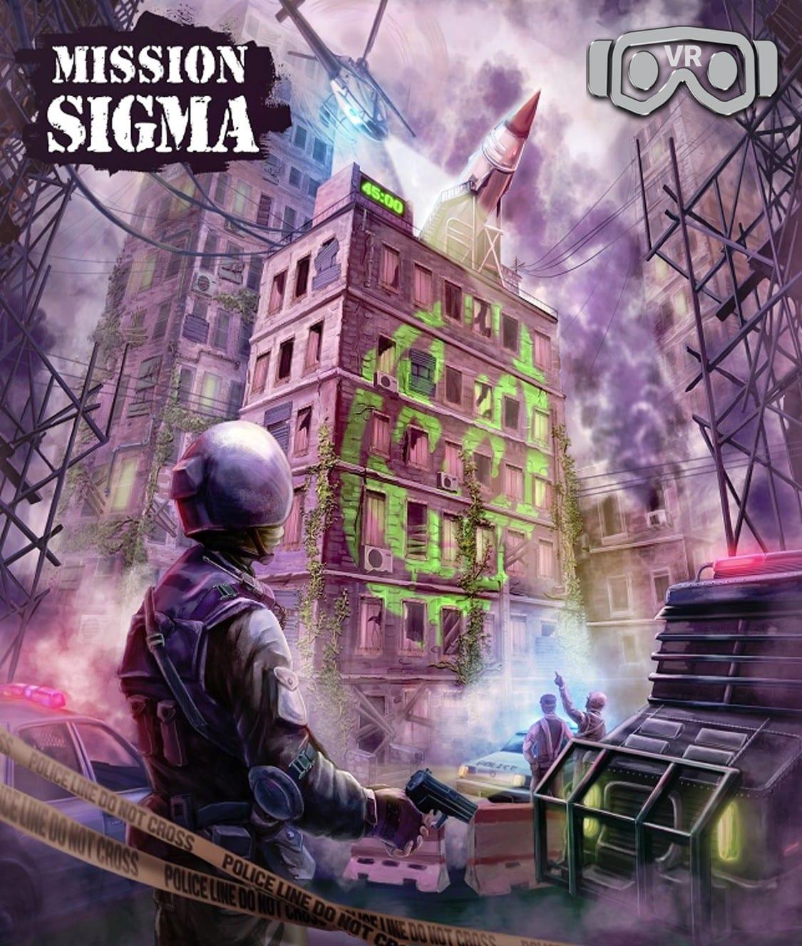 Mission Sigma Entermission Virtual Reality Escape Room x VR