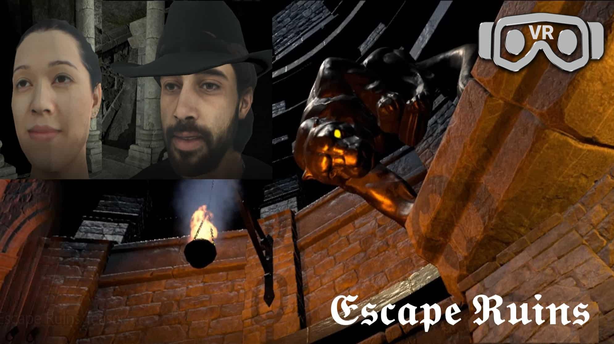 Escape Ruins Entermission Virtual Reality Escape Rooms VR Icon