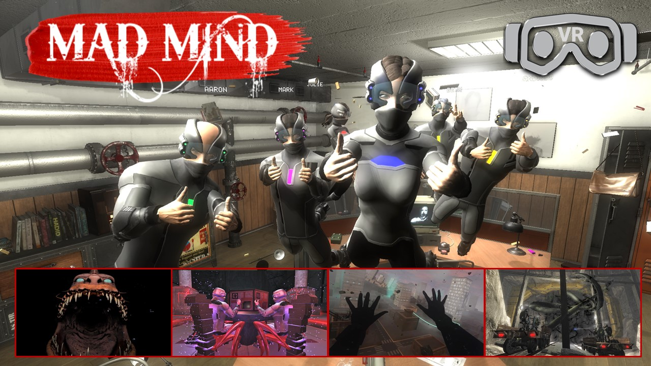 Mad Mind Virtual Reality Escape Room 1280x720 VR