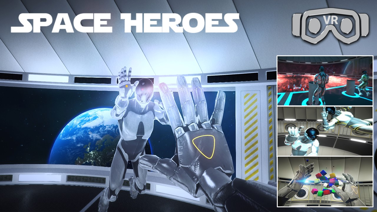 Space Heroes Virtual Reality Escape Room 1280x720 VR
