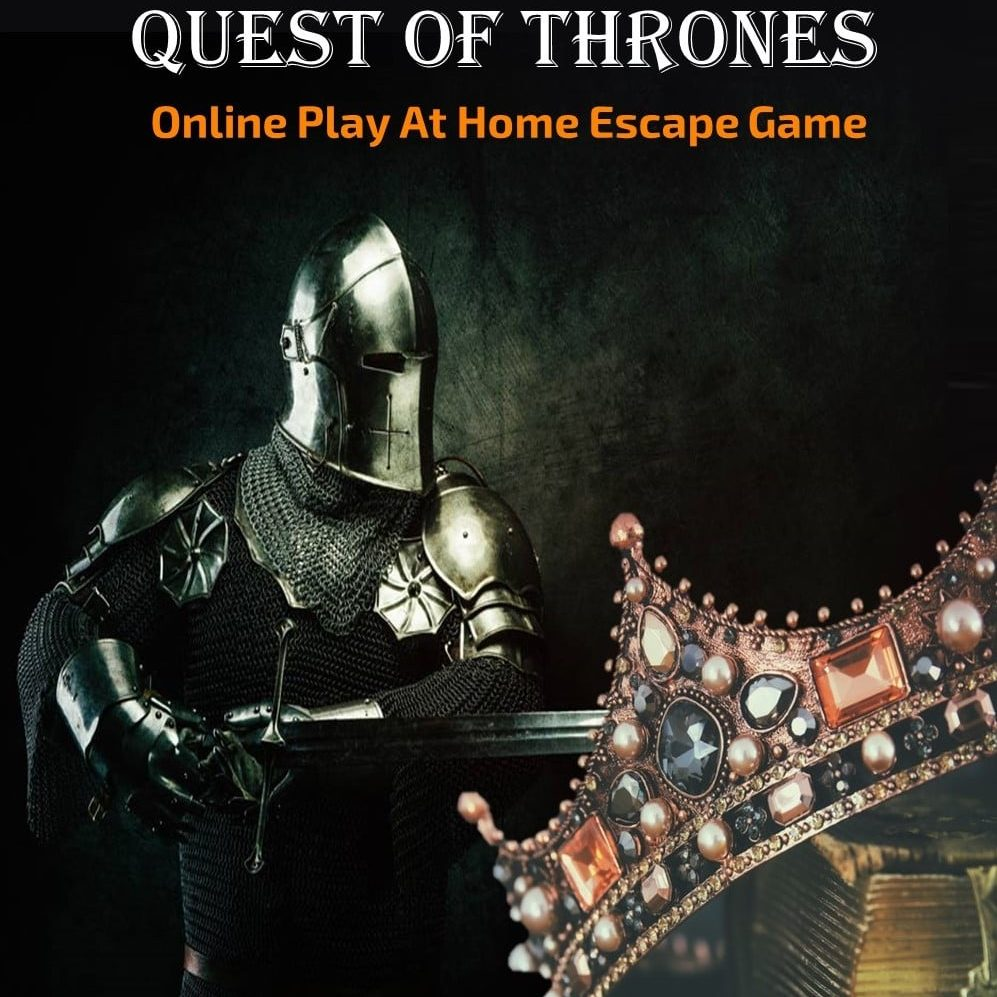 Printable Online Escape Room Quest of Thrones