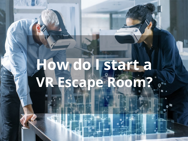 how to start vr escape room 1