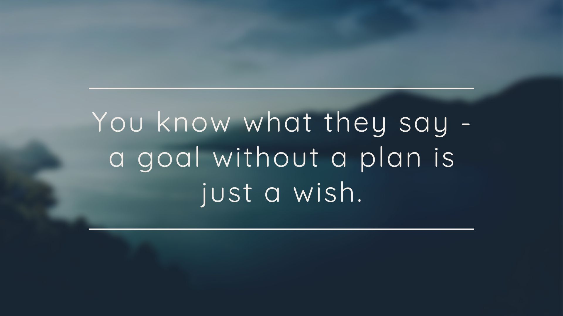 image quote goal without plan is wish