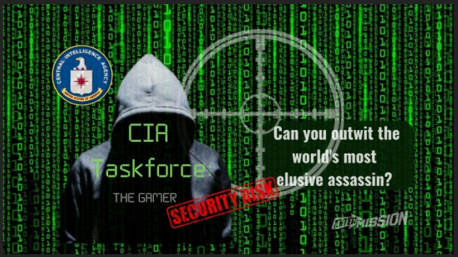 entermission hosted online game cia taskforce