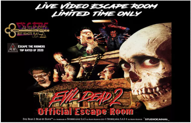 hourglass escapes remote game evil dead 2